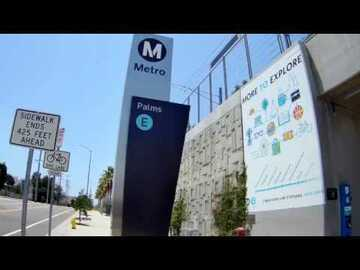 Monthly Rentals (Owner approval required): Los Angeles CA, Gated Garage Parking By Palms Metro Expo Station