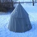 Verkaufen mit Widerrufsrecht (Gewerblicher Anbieter): Umbrella Tent – 4m – Linen