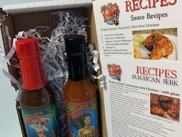 Selling with online payment: Hot Sauce Gift Set-5oz