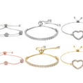 Buy Now: 25 pieces Slider Bracelets made with Swarovski Crystals