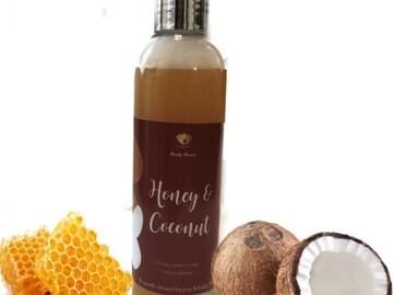 For Sale: Honey & Coconut Body Wash