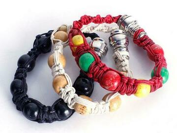 Post Now: Wholesale handmade portable stash bracelet
