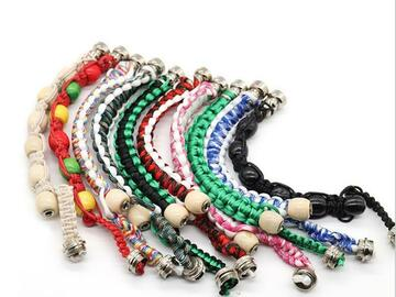 Post Now: Multi-color bracelet pipe handmade rope beaded fashion