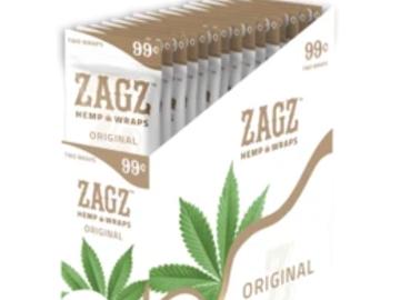 Post Products: Zig Zagz Hemp Wraps