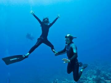 Freediving courses: AIDA 3 Freediving Course in Amed, Bali (level 2)