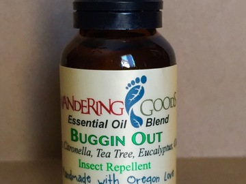 Selling with online payment: BUG REPELLENT ESSENTIAL OIL BLEND BUGGIN' OUT