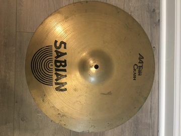 """Selling with online payment: Sabian AA Thin Crash Cymbal 16"""""""