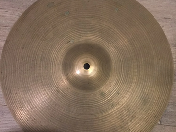 """Selling with online payment: Zildjian Quick Beat Hi Hats 14"""""""