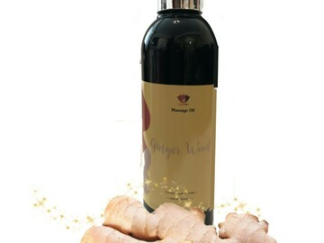 For Sale: Ginger Wood Massage Oil