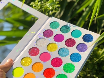 For Sale: 24 Colours Glitter High Pigment Waterproof Eye Shadow