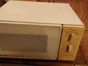 Annetaan: Microwave (reserved)