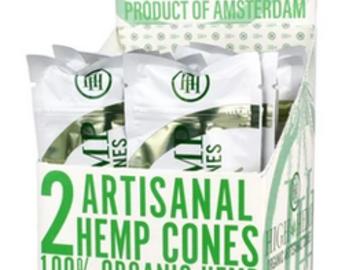 Post Products: High Hemp Organic Pre Roll Cones - Original