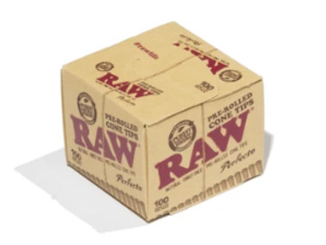 Post Products: RAW Pre-Rolled Tips for Cones - 100ct