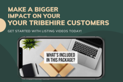 Offering online services: Create Videos For Listings On TribeHire
