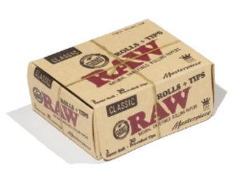 Post Products: RAW Classic Rolls + Tips Masterpiece Box