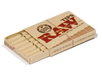 Post Products: RAW Pre-Rolled Rolling Tips