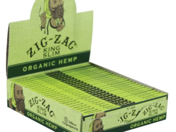 Post Products: Zig Zag King Slim Organic Hemp Rolling Papers