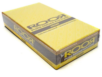Post Products: RooR Hemp 1 1/4 Rolling Papers