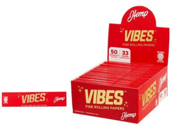 Post Now: Vibes Hemp King Size Rolling Paper