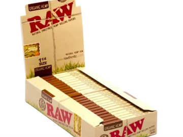 Post Products: RAW Organic Hemp Rolling Papers