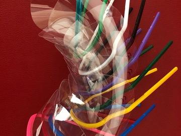 Artikel aangeboden: Plastic beschermbrillen