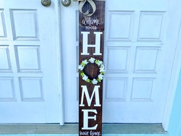 Selling with online payment: Door Plank Sign