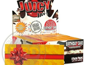 Post Products: Juicy Jay's Birthday Cake King Size