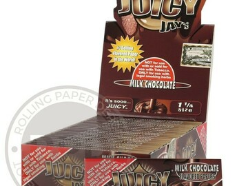 Post Now: Juicy Jay's Milk Chocolate 1 1/4