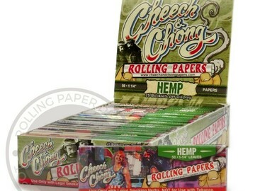 Post Products: Cheech and Chong Hemp Papers 1 1/4