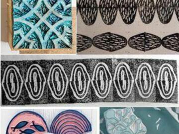 Workshop Angebot (Termine): Radiergummi-Stempel & Papier-/Stoffdruck