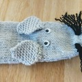 Selling with online payment:  Knitted Hand Puppets