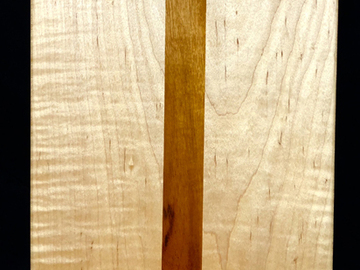 Selling with online payment: Tiger Maple and Tiger Wood Cutting Board