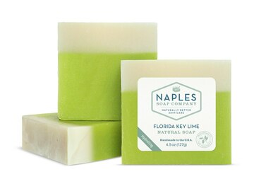 Selling with online payment: Key Lime Soap & Loofa