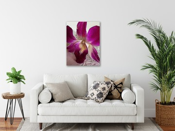 Selling with online payment: Tropical Purple Orchid Canvas Print