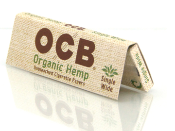 Post Now: Organic Hemp Rolling Papers by OCB