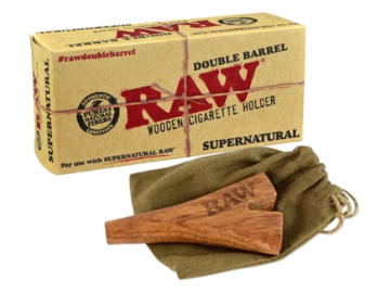 """Post Now: Raw 12"""" Supernatural Double Barrel"""
