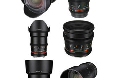 Renting out with online payment: Rokinon Cine Kit EF mount (14mm, 24mm, 35mm, 50mm ,85mm, 135mm)