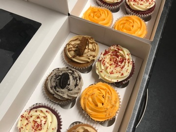 For Sale: Premium flavour cupcakes. Box of 6