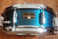 Selling with online payment: Tama Imperialstar (modern) snare drum  hairline blue