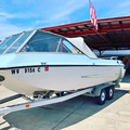 Renting out with online payment: 1971 Larson Runabout (235 hpr Ski-boat)