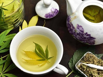 Selling with online payment: MoonTea, THC infused teabags from StarrInfusions