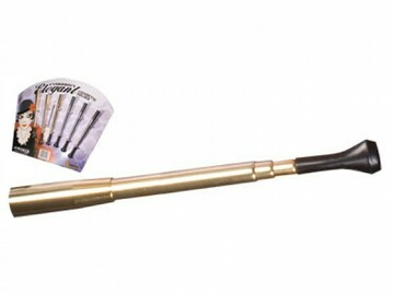 Post Now: Telescopic Silver Or Gold Cigarette Holder