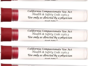 Post Now: California Doob Tube - Red Top 5 Pack