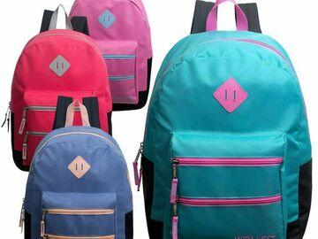"Buy Now: Moda West 17""Lot of 24 Backpacks"