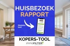 .: Bespaar tijd & geld met onze tool: Huisbezoek-rapport