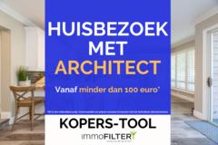 .: Droomwoning gevonden? Bezoek met architect vanaf <100€! Klik hier