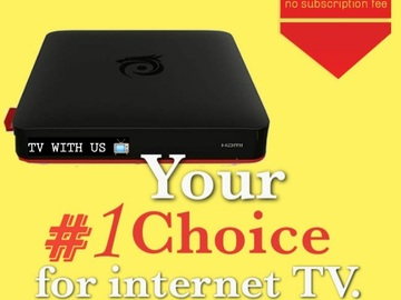 Offering your hiring services: Internet TV Box