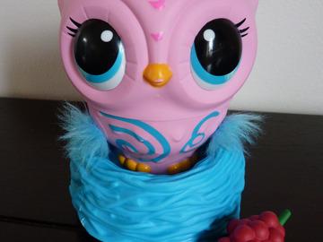 Vente: Chouette interactive Owleez rose parfait état