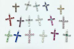Buy Now: 100 pieces Swarovski Crosses Cross charms