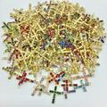 Buy Now: 100 Pieces Swarovski Crystal Crosses - lots of Assorted colors